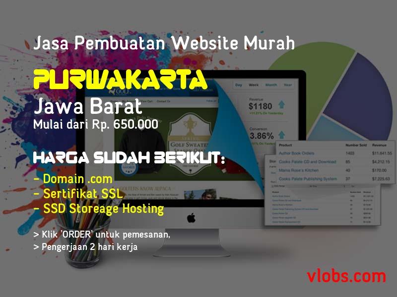 Jasa Pembuatan Website Murah Di Purwakarta - Jawa Barat