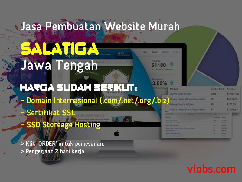 Jasa Pembuatan Website Murah Di Salatiga - Jawa Tengah