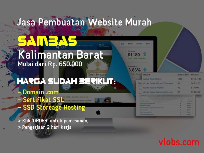 Jasa Pembuatan Website Murah Di Sambas - Kalimantan Barat