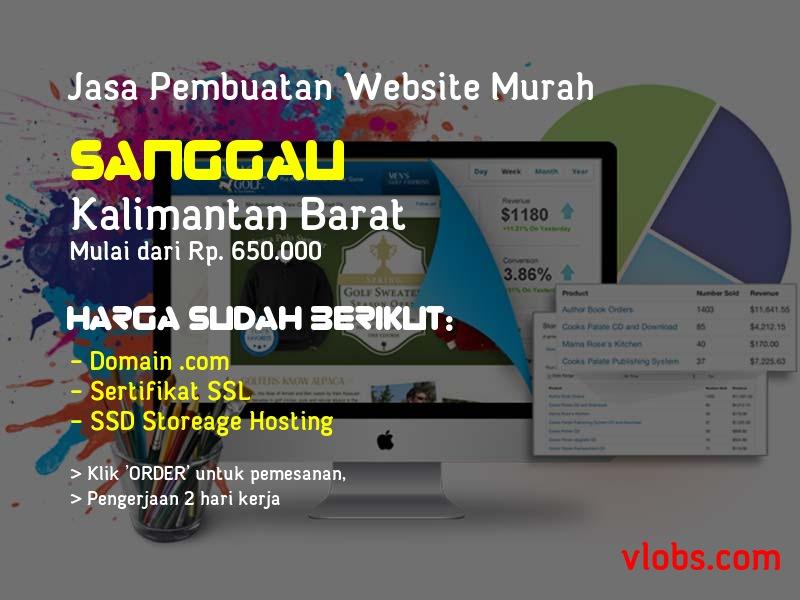 Jasa Pembuatan Website Murah Di Sanggau - Kalimantan Barat