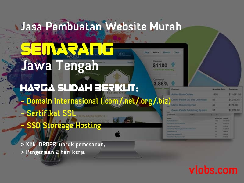 Jasa Pembuatan Website Murah Di Semarang - Jawa Tengah