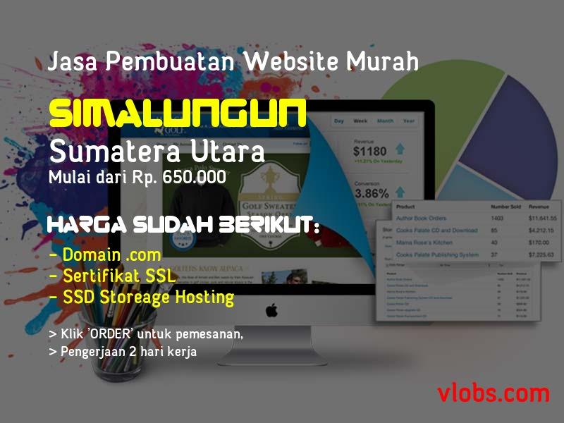 Jasa Pembuatan Website Murah Di Simalungun - Sumatera Utara