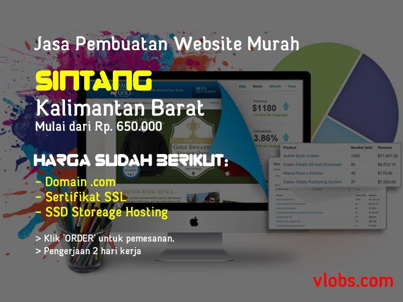 Jasa Pembuatan Website Murah Di Sintang - Kalimantan Barat