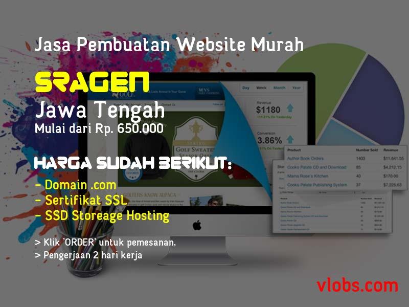 Jasa Pembuatan Website Murah Di Sragen - Jawa Tengah