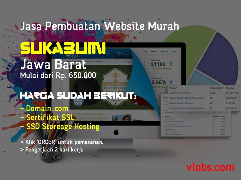Jasa Pembuatan Website Murah Di Sukabumi - Jawa Barat
