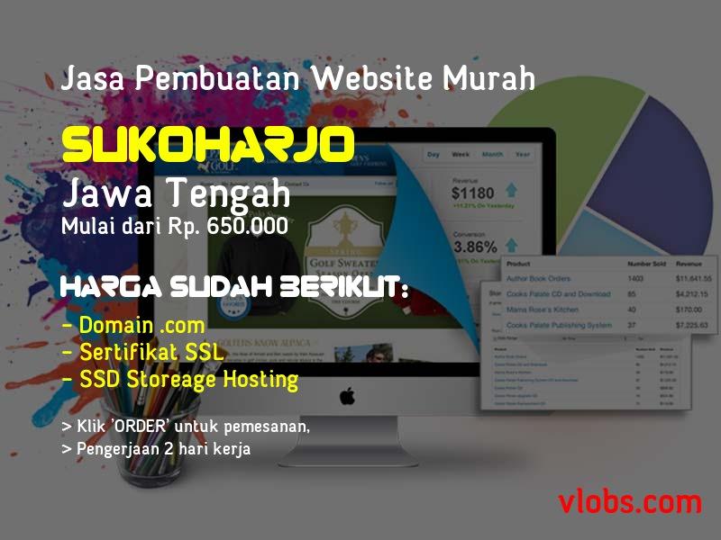 Jasa Pembuatan Website Murah Di Sukoharjo - Jawa Tengah