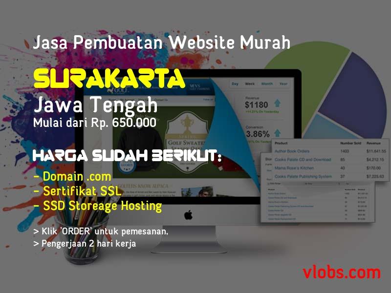 Jasa Pembuatan Website Murah Di Surakarta - Jawa Tengah
