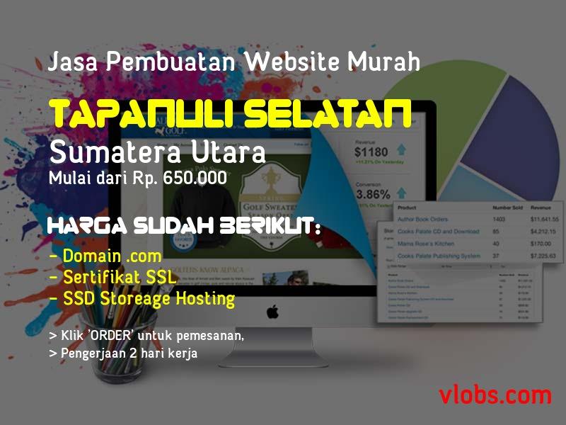 Jasa Pembuatan Website Murah Di Tapanuli Selatan - Sumatera Utara