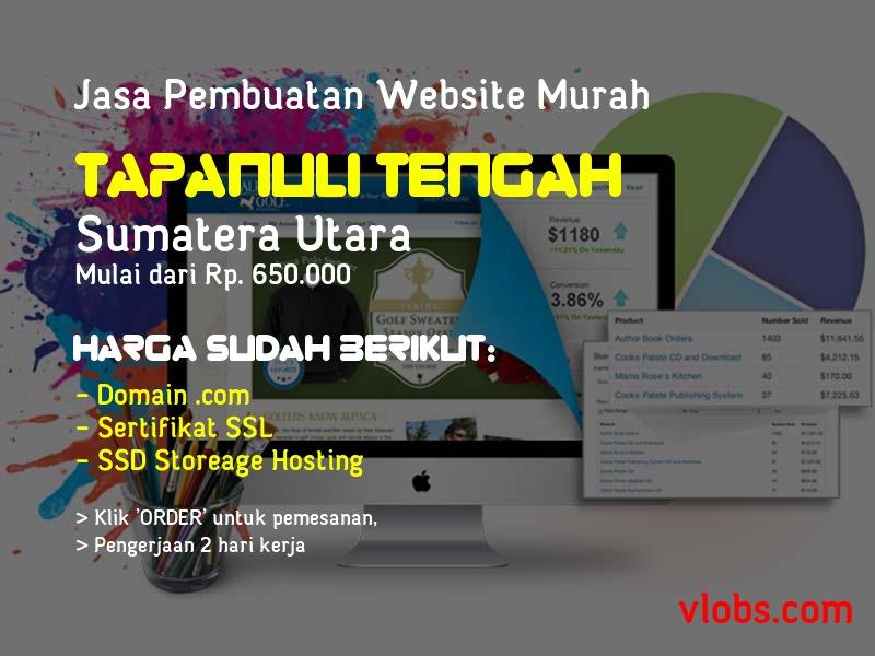 Jasa Pembuatan Website Murah Di Tapanuli Tengah - Sumatera Utara