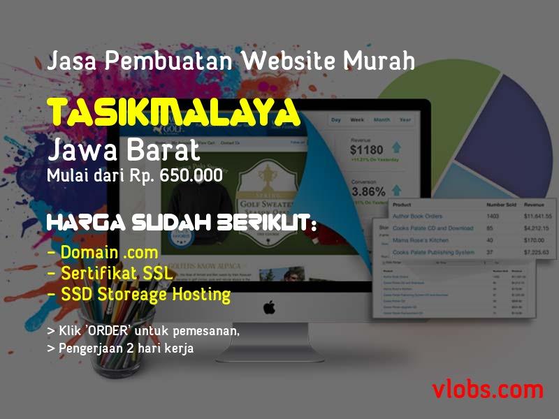 Jasa Pembuatan Website Murah Di Tasikmalaya - Jawa Barat