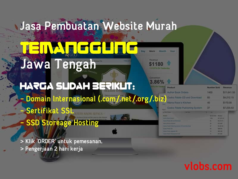 Jasa Pembuatan Website Murah Di Temanggung - Jawa Tengah