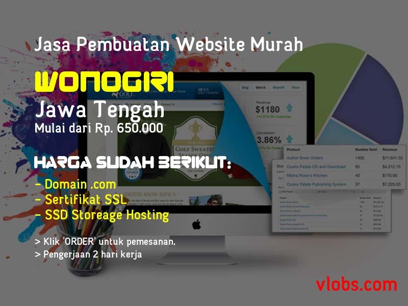 Jasa Pembuatan Website Murah Di Wonogiri - Jawa Tengah