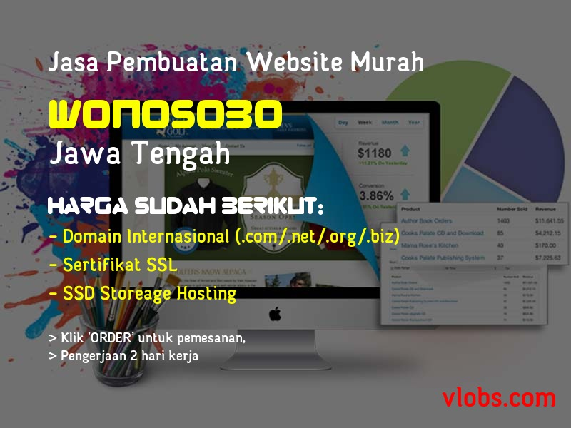 Jasa Pembuatan Website Murah Di Wonosobo - Jawa Tengah